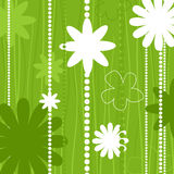 De structuur van de bloem vector illustratie
