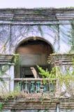 De structuur van de boog van de oude bouw Stock Afbeelding