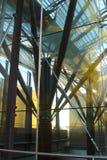 De structuur van de bouw Stock Foto