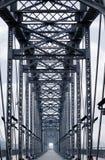 De structuur van de brug Stock Afbeeldingen
