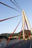 De structuur van de brugpijler stock afbeeldingen
