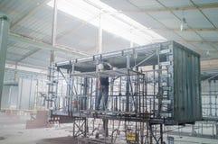 De structuur van de de industriecontainer Royalty-vrije Stock Afbeelding
