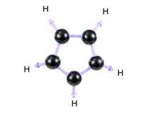 De Structuur van de molecule Royalty-vrije Stock Afbeelding