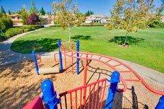 De Structuur van de Speelplaats van kinderen Royalty-vrije Stock Fotografie
