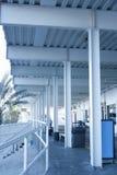 De structuur van de Stralen van het staal en van Posten Royalty-vrije Stock Fotografie