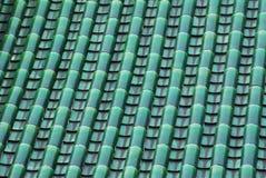 De structuur van de tegel en van het dak stock fotografie