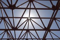 De Structuur van de zon Royalty-vrije Stock Afbeelding