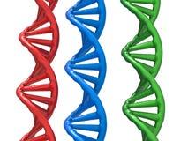 De structuur van DNA Royalty-vrije Stock Foto