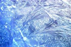 De Structuur van het ijs Stock Foto's