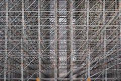 De structuur van het staal Stock Afbeeldingen