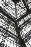 De structuur van het staal Stock Foto