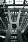 De structuur van het staal Stock Foto's