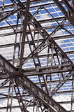 De Structuur van het staal Royalty-vrije Stock Foto's