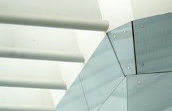 De Structuur van het staal van Pijlers en Stralen Stock Afbeeldingen