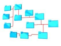 De structuur van omslagen Stock Foto
