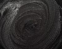 De structuur van schuim op een zwarte achtergrond stock fotografie