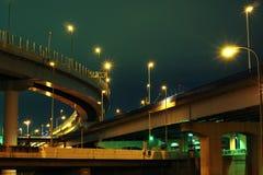 De structuur van wegen Stock Foto