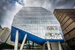 De Student Learning Centre bij Ryerson-Universiteit, in Toronto, O Stock Foto's
