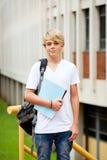De student van de middelbare school Stock Afbeeldingen
