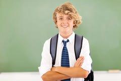 De student van de middelbare school royalty-vrije stock afbeelding