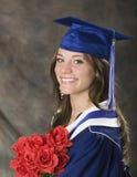 De student van Grad Stock Foto's