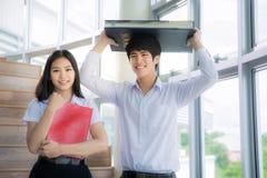 De studenten van Azië Royalty-vrije Stock Afbeeldingen