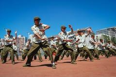 De studenten van China militaire opleiding 32 Stock Foto