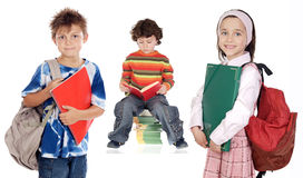 De studenten van kinderen Stock Afbeelding
