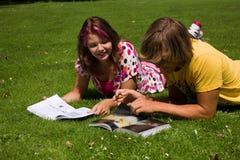 De zomerstudie royalty-vrije stock fotografie