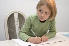 De studies van het kind Stock Foto