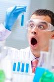 De studies van het onderzoek Stock Afbeelding