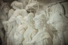 De Studio's van het Nicolibeeldhouwwerk, Carrara, Italië Stock Fotografie