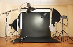 De studio van de foto Stock Afbeeldingen