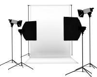 De studio van de foto royalty-vrije illustratie