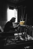 De Studio van de kunstenaar royalty-vrije illustratie