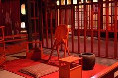 De studio van de Oiranfilm, Kyoto Japan Royalty-vrije Stock Afbeeldingen
