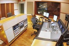De studio van de opname