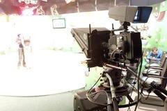 De studio van loterijtv Stock Afbeelding