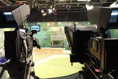 De studio van loterijtv Royalty-vrije Stock Afbeelding