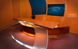 De Studio van TV Royalty-vrije Stock Afbeeldingen
