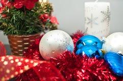De studiosamenstelling van Kerstmis Stock Fotografie