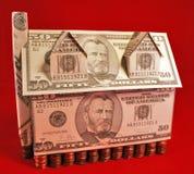 De Stuiver van het geld royalty-vrije stock afbeeldingen