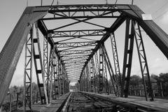 De stuiverbrug is een monument van architectuur van vroeg - Th-20 eeuw, de stad van Petrovsk het Volga gebied royalty-vrije stock afbeelding