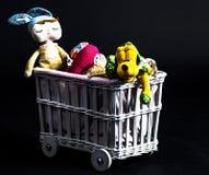 De stuk speelgoed wagen royalty-vrije stock fotografie