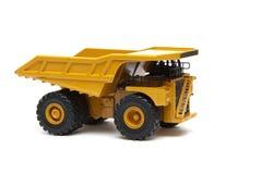 De stuk speelgoed zware vrachtwagen Stock Afbeelding
