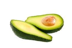 De stukken van de avocado Royalty-vrije Stock Afbeeldingen