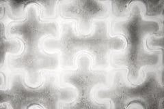 De stukken van de ijsfiguurzaag Royalty-vrije Stock Afbeelding