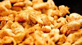 De stukken van de kip Stock Foto