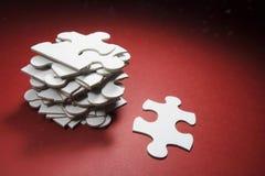 De Stukken van de puzzel Royalty-vrije Stock Fotografie