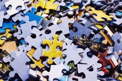 De stukken van de puzzel Royalty-vrije Stock Afbeelding